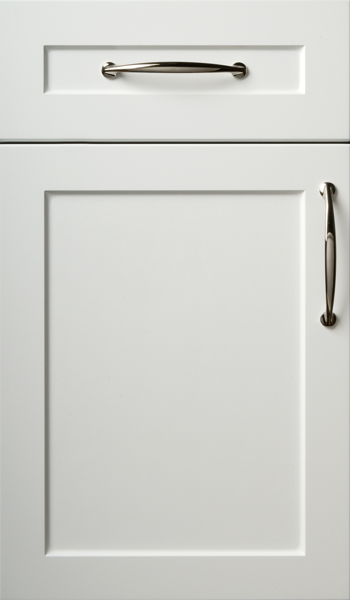 White Kitchen End Support Panel