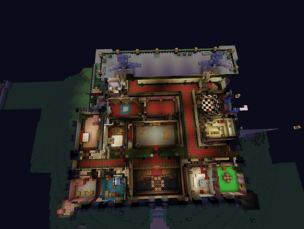 Adventure Mansion Minecraft Map Luigis
