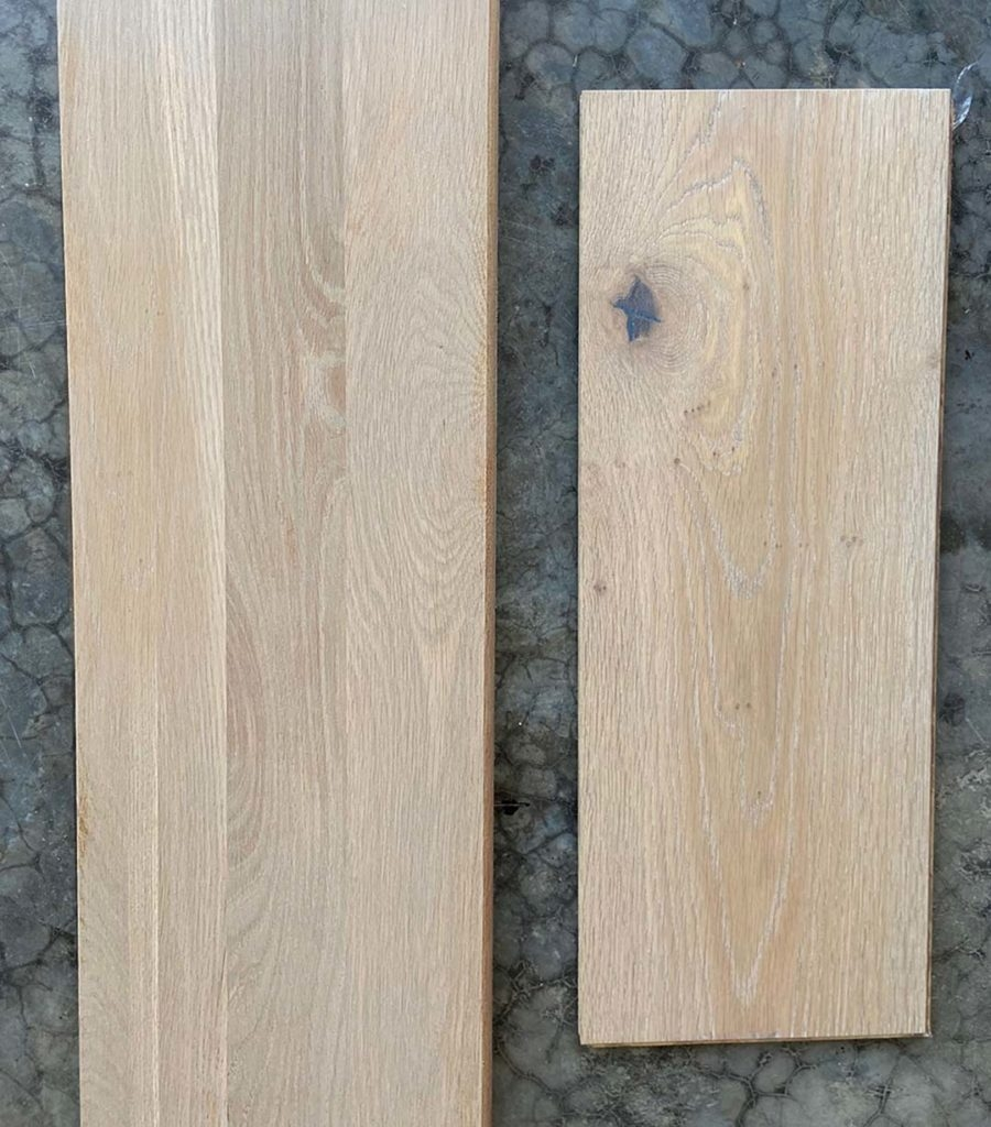 How To Match Solid Stair Treads To Prefinished Hardwood Flooring   Engineered Wood Stair Treads   Hickory   Platform   Finished   Engineered Hardwood   Luxury Vinyl