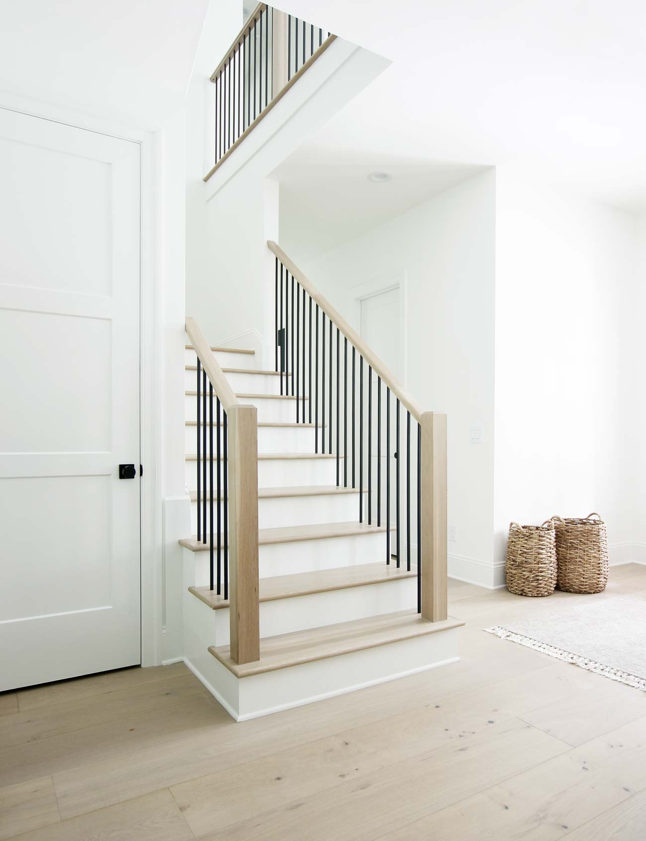 How To Match Solid Stair Treads To Prefinished Hardwood Flooring   White Oak Stair Treads Lowes   Stairtek Retrotread   Red Oak   Unfinished   Staircase Remodel   Wood