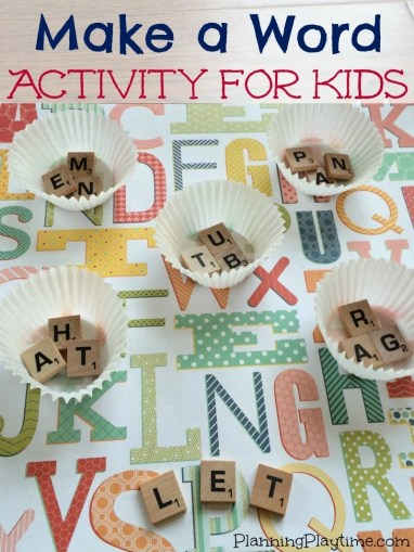 CVC Word Game for Kindergarten   Planning Playtime CVC Word Game for Kindergarten