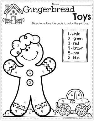 Gingerbread Man Printables - Planning Playtime