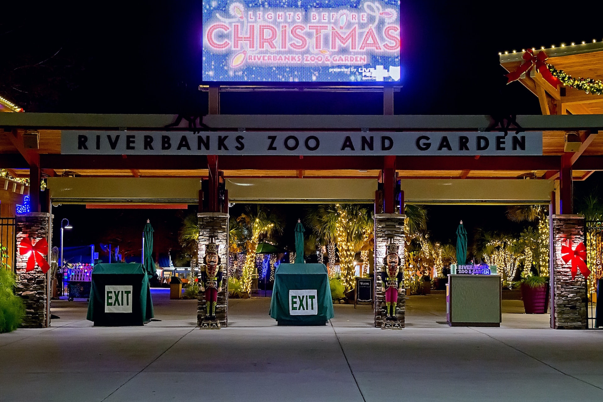 Columbia Riverbanks Zoo Lights Christmas