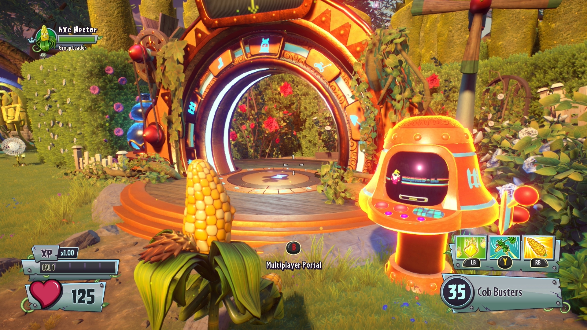 Plants Play Online Zombies Game Vs