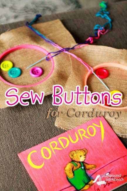Sew Buttons For Corduroy