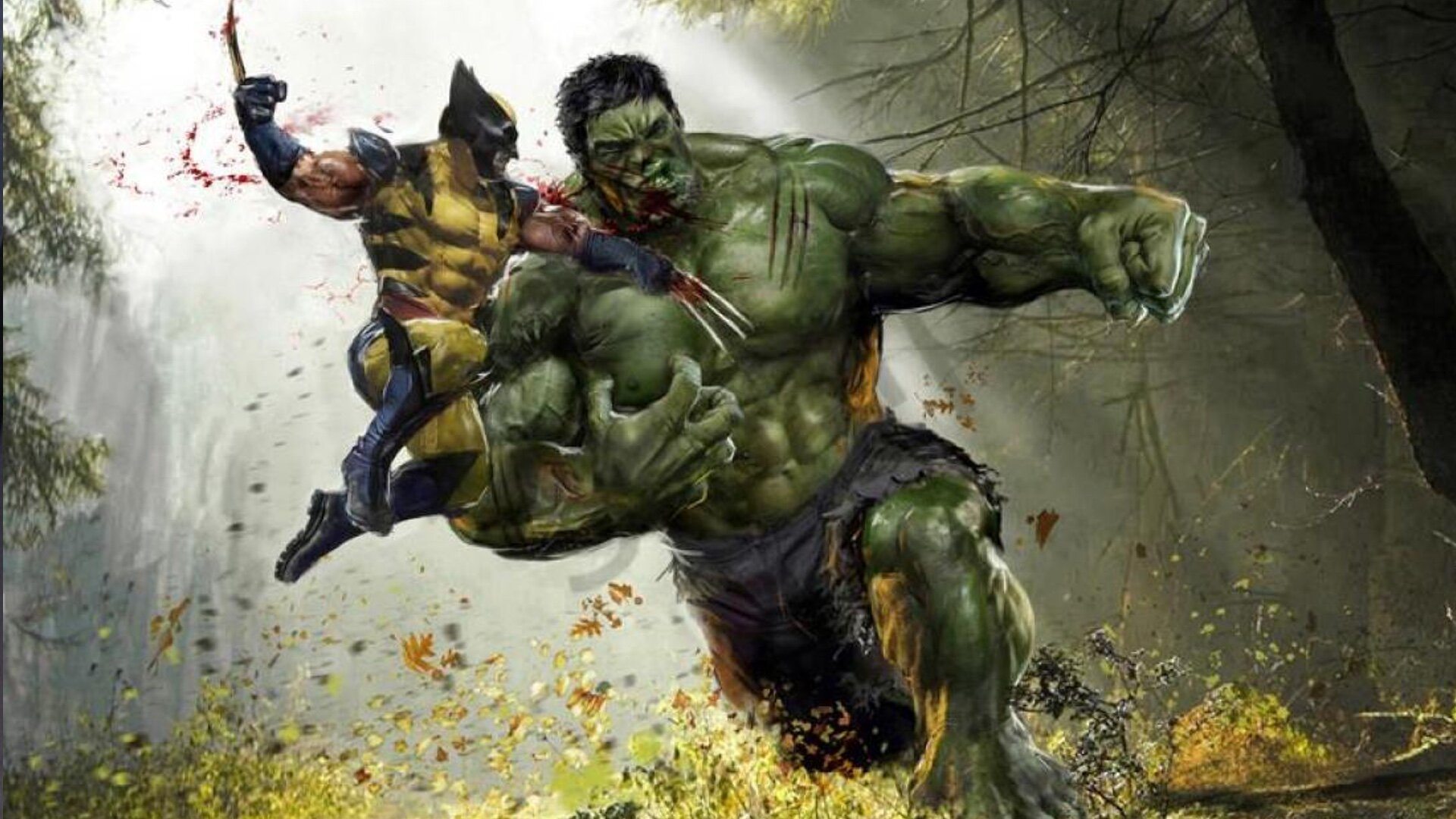 hulked out wolverine - HD1920×1080