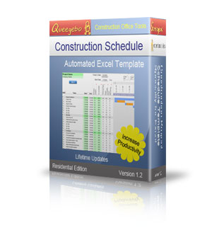 Construction Schedule Template   Residential  Excel Workbook     Construction Schedule Template   Residential  Excel Workbook Template    Other Files   Documents and Forms