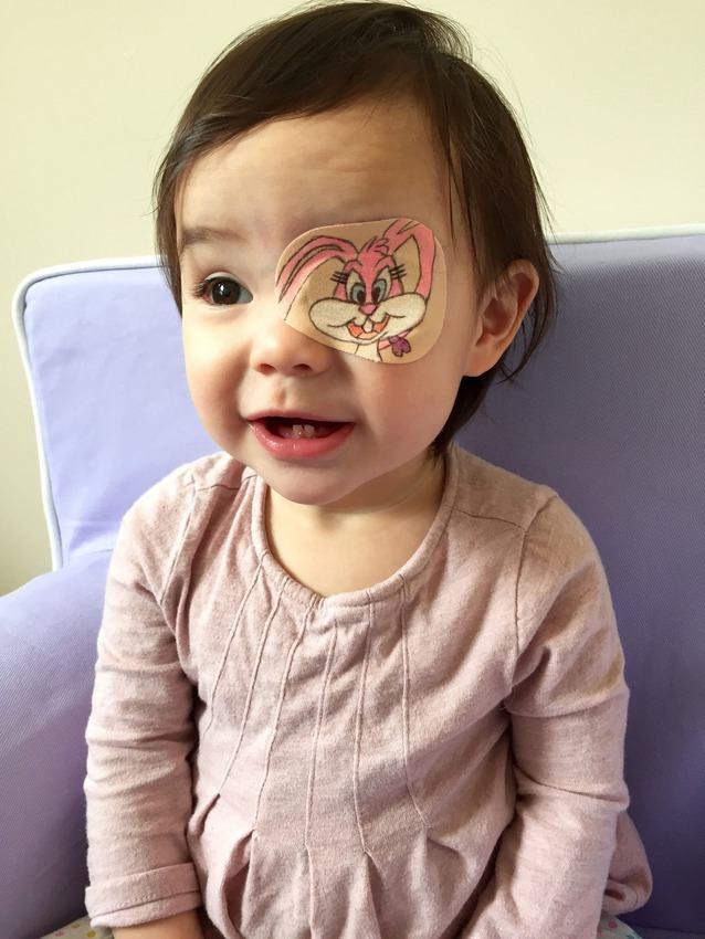 Dad Creates Cute Custom Eye Patches For His Daughter 18 Pics