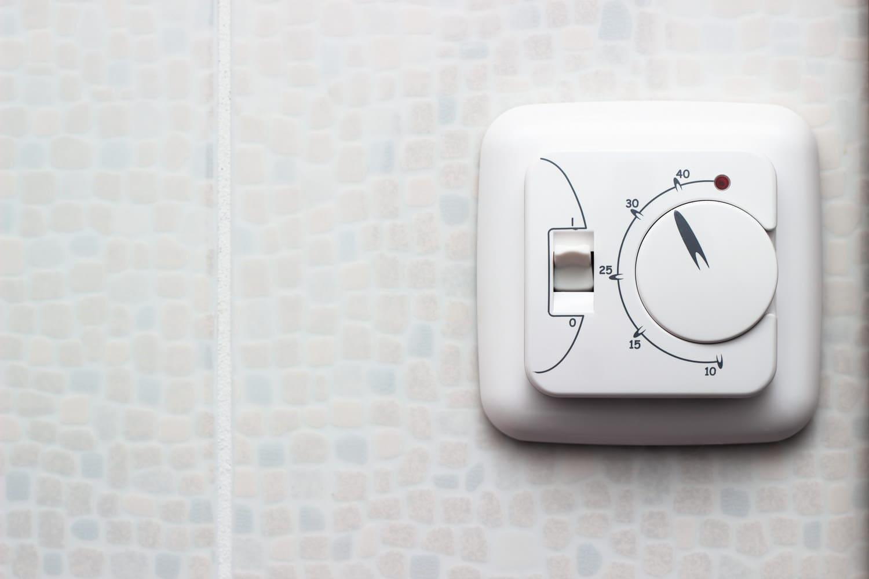 Pemasangan sensor suhu dan termostat