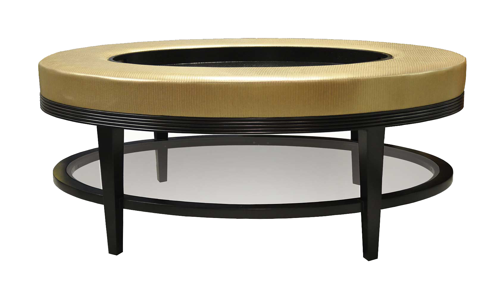 Oval Coffee Table Upholstered