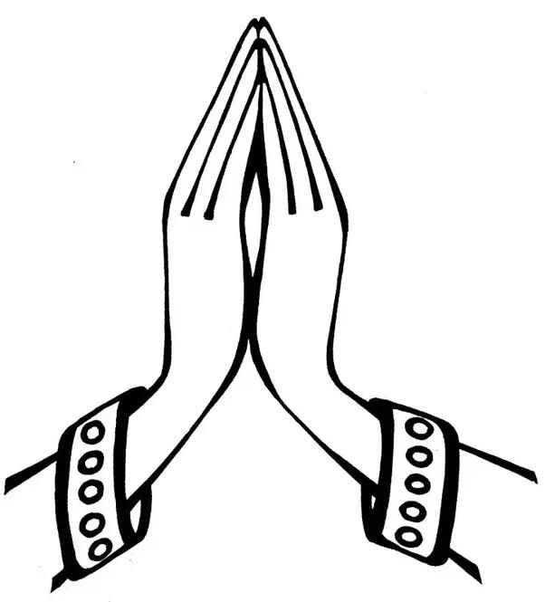 Namaskar Hand PNG Transparent Namaskar Hand.PNG Images ...