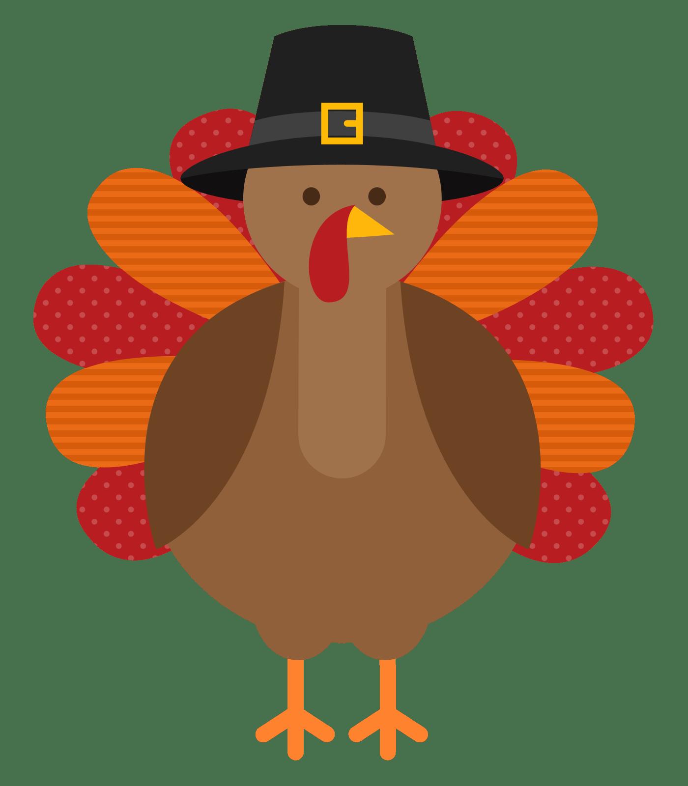 Blue Transparent Cornucopia Thanksgiving Centerpiece