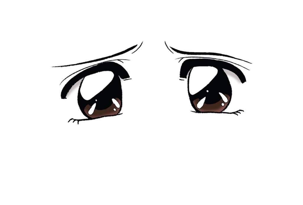 ️ Draw Sad eyes anime 🎨 | Anime Amino
