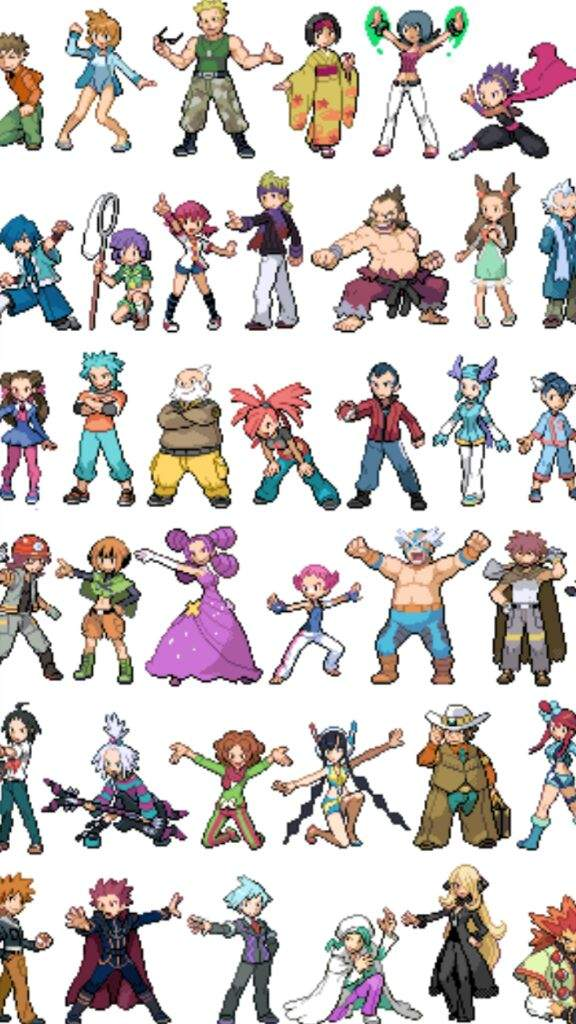 List All Pokemon Characters Names