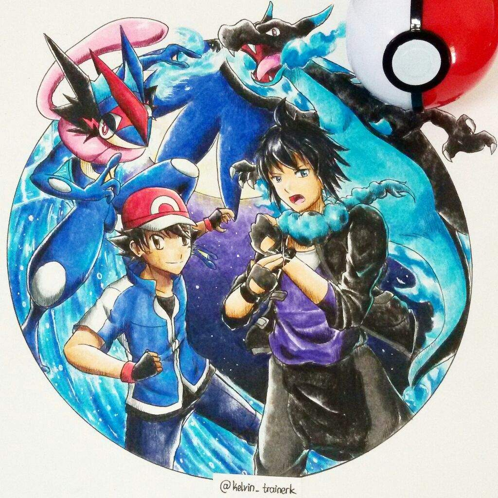 Ash Vs X Pokemon Greninja Charizard Mega