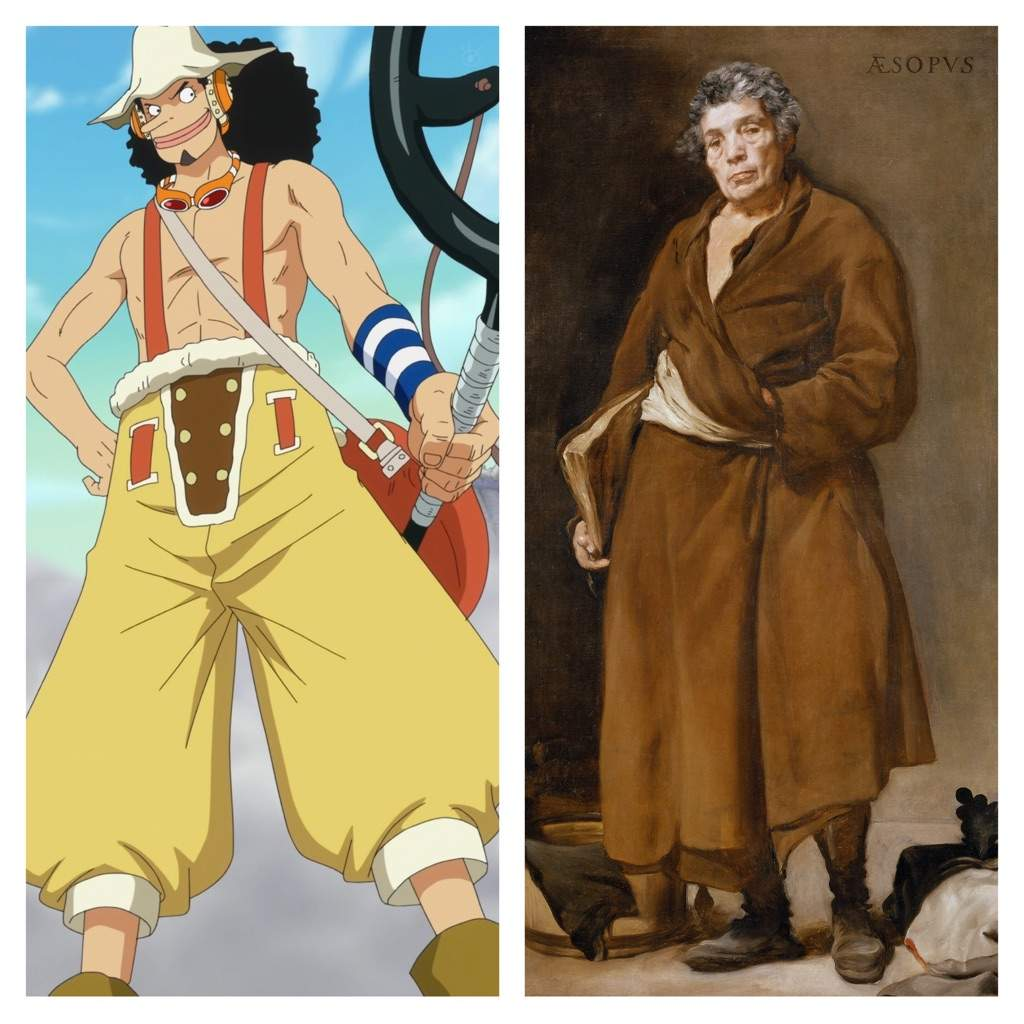 One Piece Characters And Their Real World Counterparts ...