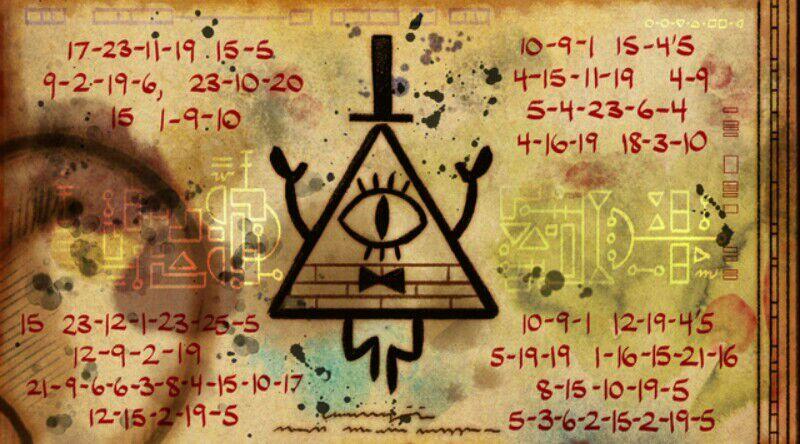 Falls Secret Messages Gravity Solved
