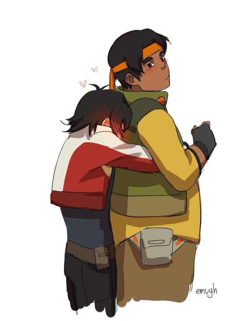 Keith And Pidge Voltron Best Friends