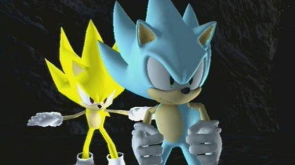 super sonic and hyper sonic in sonic 1 # 16