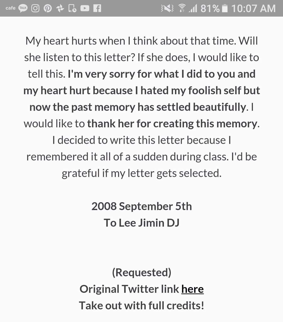 Should you write a love letter to your ex lvelegant to think that he even acknowledged should have treat her better and thank for the memories min yoongi love letter to ex spiritdancerdesigns Gallery