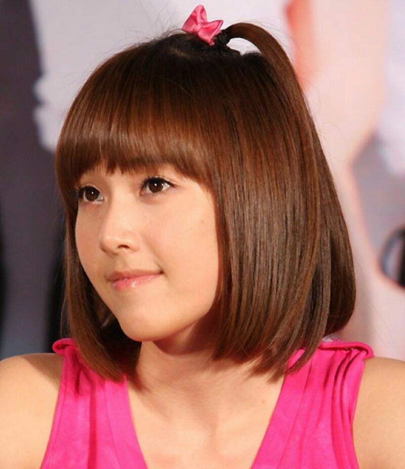 Snsd Hyoyeon Short Hair
