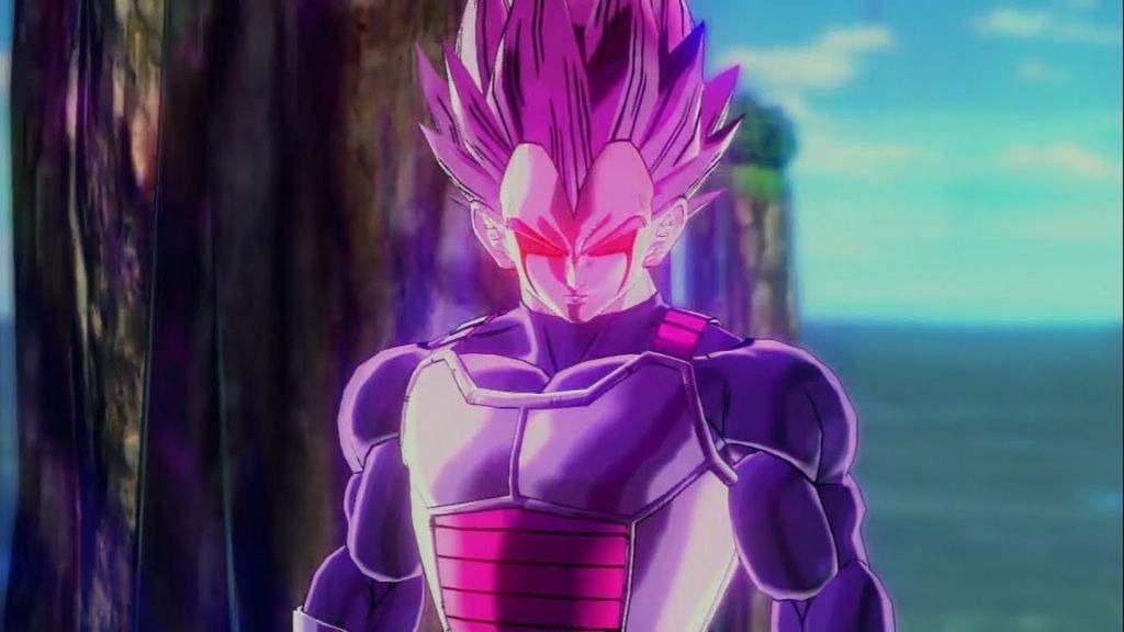 Aura Dragon Ball Z Purple