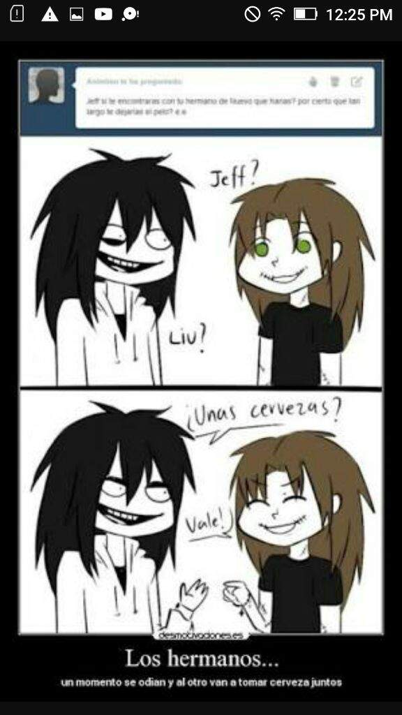 X Jeff Killer Masky Creepypasta