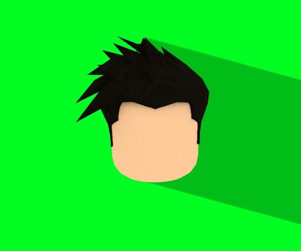 Red Profile Shadow Head Roblox