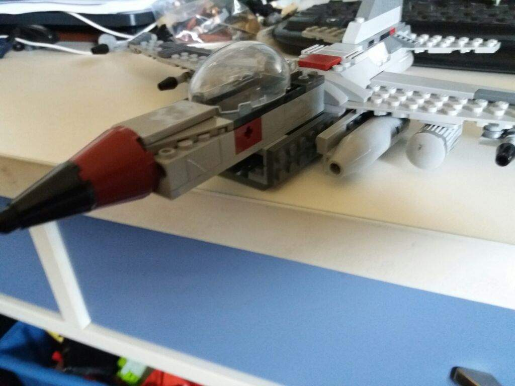 Lego F 16 Fighting Falcon   LEGO Amino The build