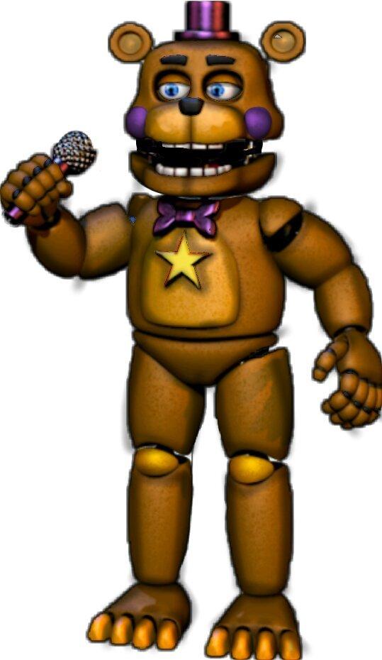 Fnaf6 Rockstar Freddy Full Body
