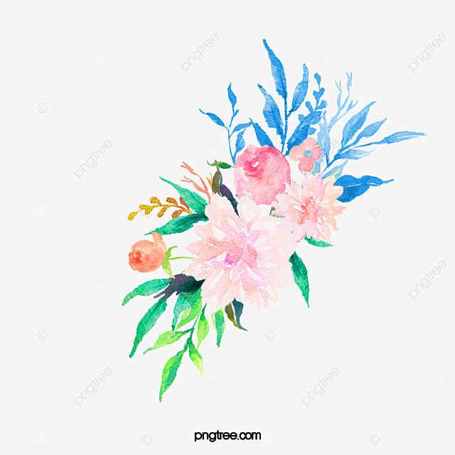 Watercolor Flowers  Watercolor Clipart  Drawing Plant  Flowers PNG     watercolor flowers  Watercolor Clipart  Drawing Plant  Flowers PNG Image  and Clipart