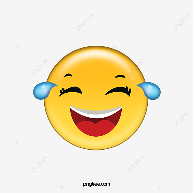 Laughing And Crying Expression Pack, Cartoon, Emoji ...