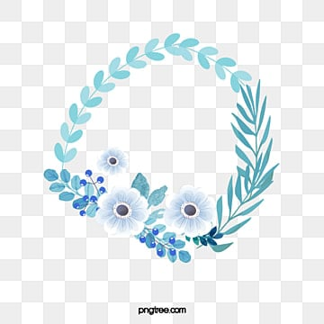 Watercolor Blue Flowers Blue Flowers Plant Png Image For Free Download