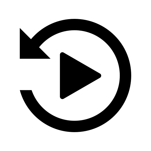 Replay Icon With PNG and Vector Format for Free Unlimited ...