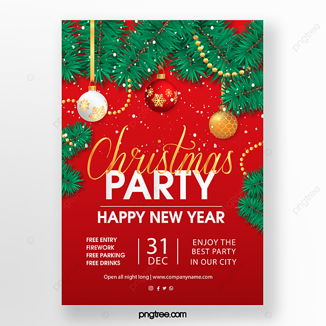 Christmas Party Png Vector Psd And Clipart With