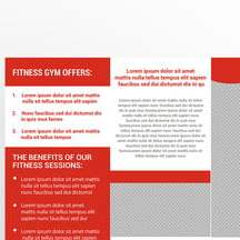 HD Decor Images » 4  Gym Brochure Templates for Free Download on Pngtree fitness gym trifold brochure Template