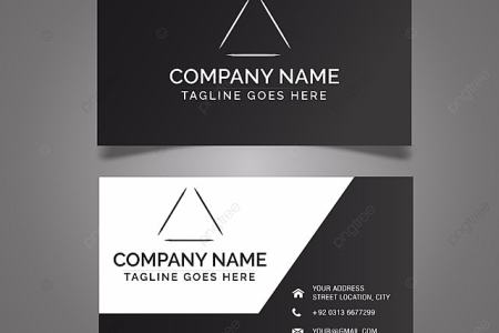 black business card template Template for Free Download on Pngtree black business card template Template