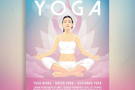 Yoga Flyer Poster Template for Free Download on Pngtree Yoga Flyer Poster Template
