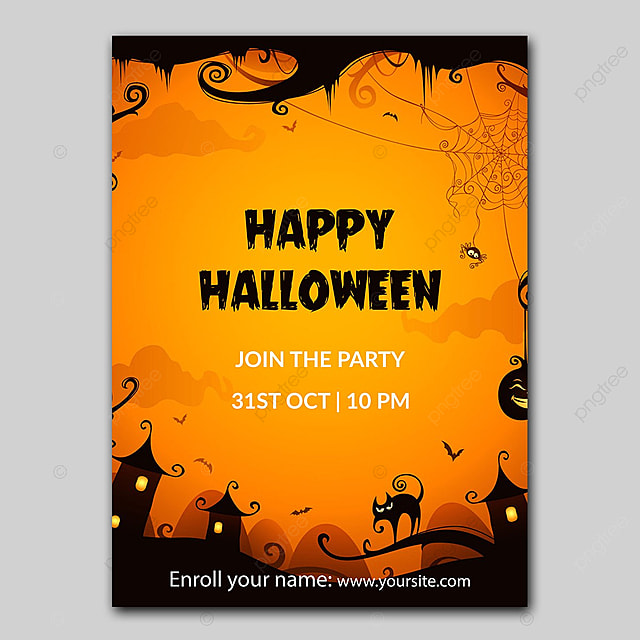 Halloween Poster 2 Template For Free Download On Pngtree