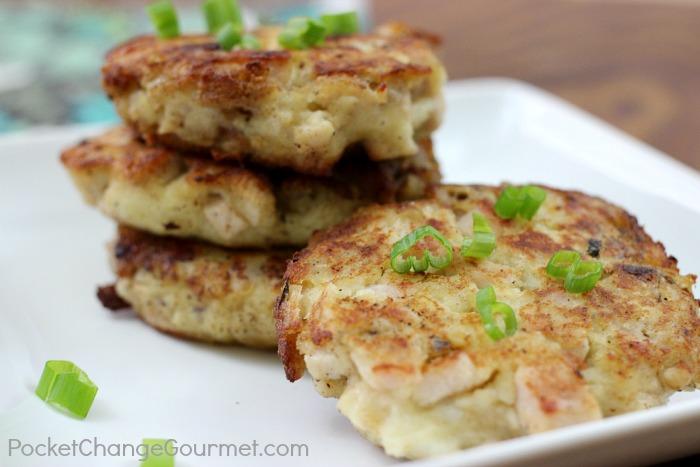 Mashed Potato Amp Stuffing Patties Thanksgiving Leftovers Recipe Pocket Change Gourmet