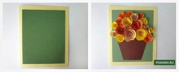 Στάδιο 4 - δημιουργία καρτ ποστάλ για γιαγιά