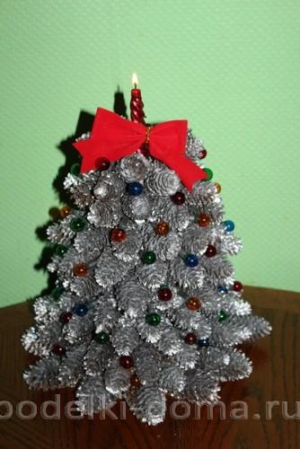 Bem, a árvore de Natal é acesa