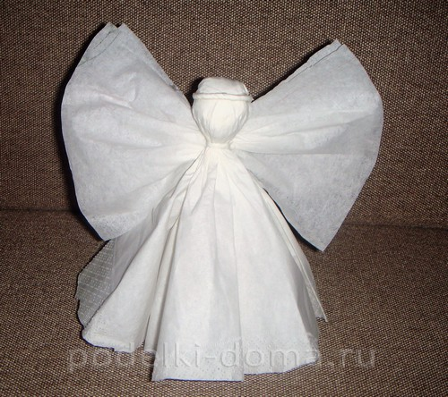 Belye angely Iz bumagi14