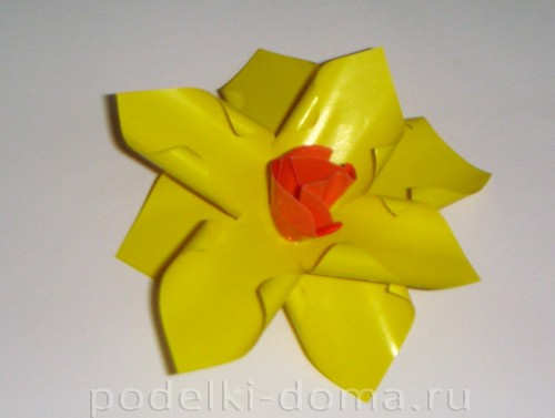 Paper Flowers daffodils06.