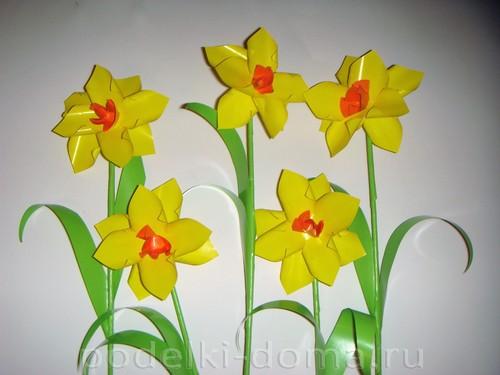 Paper Flowers daffodils13.