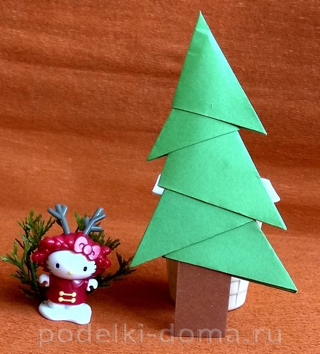 Paper Christmas Tree Modules 14