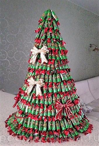 Árbol de Navidad de Dulces Kislyuk Daria
