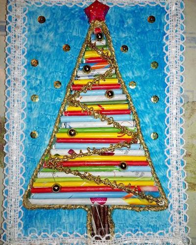 Χριστουγεννιάτικο δέντρο από σωλήνες2.