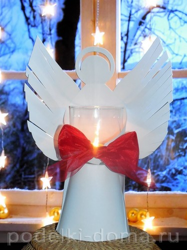 Paper Angel Candlestick 01
