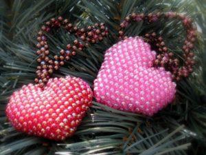 Καρδιά χάντρα